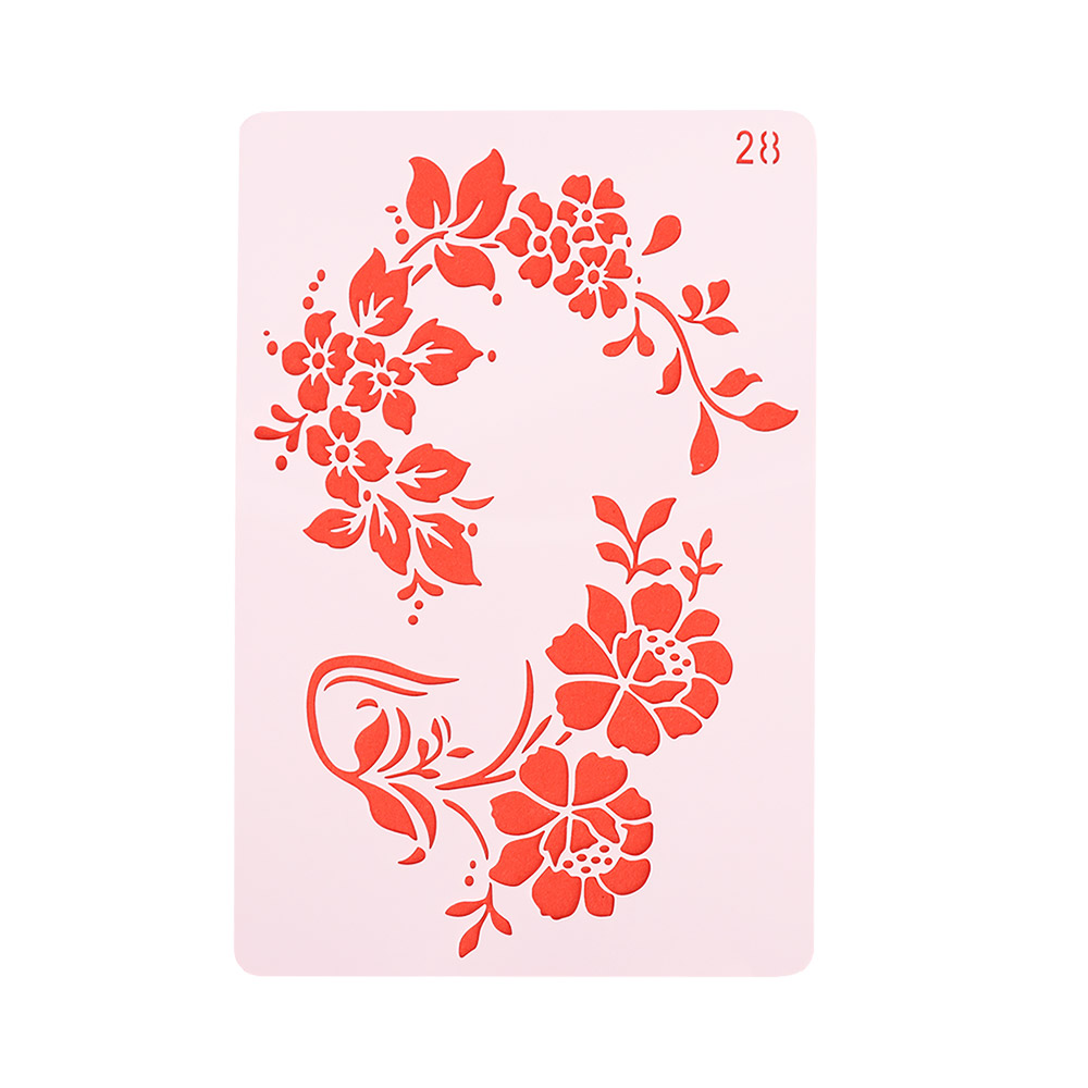 1Pc//Set Layering Stencils Template For WallPainting Scrapbooking Stamping Crafts