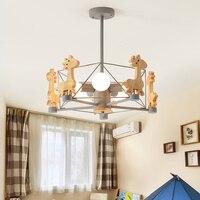 Modern Pendant Light Children's Room Cartoon Lamp Simple Bedroom Lamp Nordic Pendant Lamps Contemporary Restaurant Kitchen Light