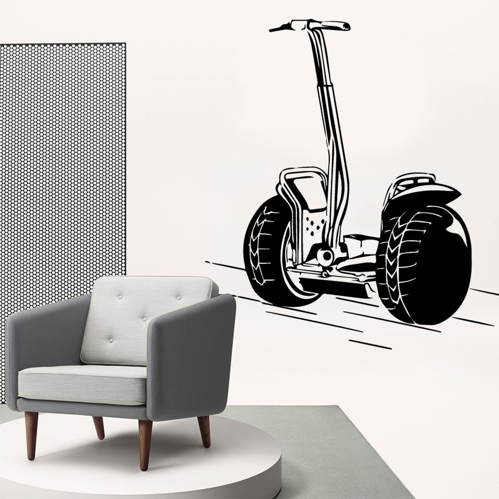 Exquisite Bike Vinyl Wallpaper Roll Furniture Decorative For Children's Room Wall Decoration