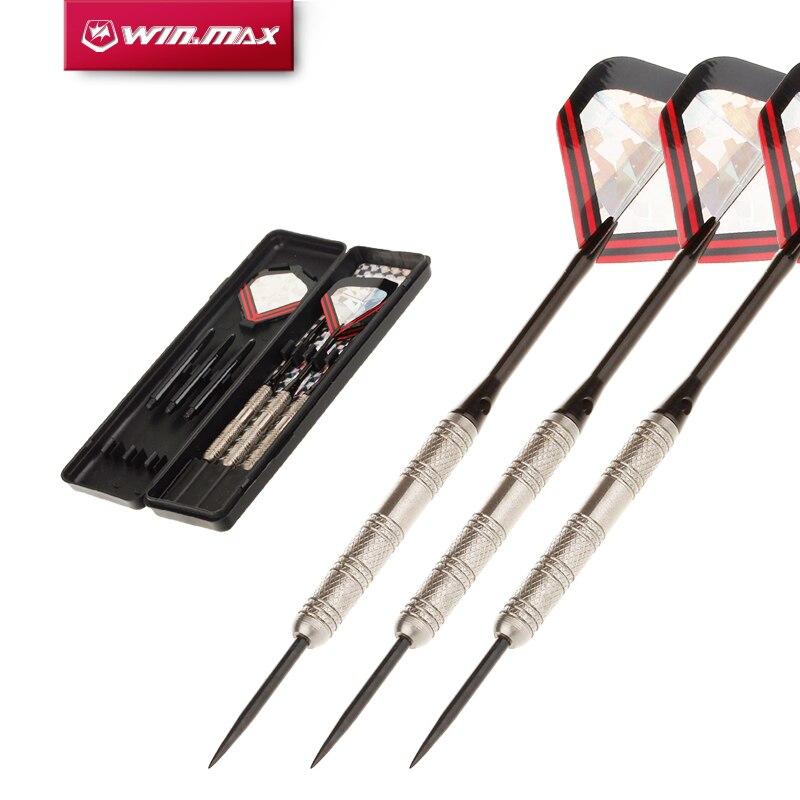 WINMAX Professional 90% Tungsten 22G/24G Steel Tip Darts For Bristle Sisal Dartboard Paper Dartboard