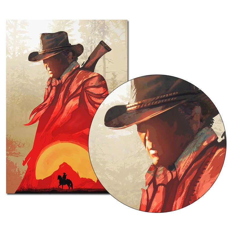 Rouge mort rachat 2 jeu toile affiche mur Art impression peinture 20x30 60x90 cm papier peint décoratif mur photo pour salon