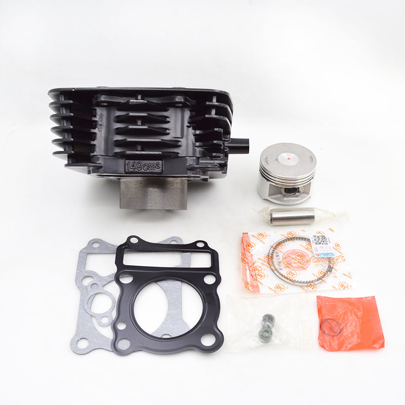 High Quality Motorcycle Cylinder Kit 57mm Bore For Suzuki EN150 GZ150 GZ EN 150 150cc EFI Engine Parts high quality motorcycle cylinder kit for