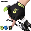 Sireck Cycling Gloves Half Finger Gel Padded Mouintain Road Bike Gloves Men Women Bycicle Bicycle Gloves Luva Guantes Ciclismo
