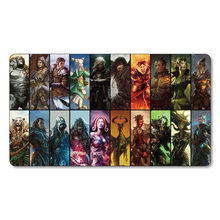 All Planeswalkers Gathering Magical Custom mgt Playmat tcg ccg ygo Gather Cards Game Play Mat Serra Angel Brainstorm Lil pad(China)