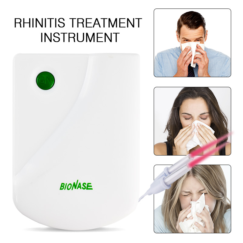 Sinusitis Rhinitis Therapy Hay Fever Low Frequency Pulse Therapeutic Apparatus Household Laser Physiotherapy Massage Instrument low frequency double pulse microcomputer therapeutic apparatus electrical stimulation acupuncture therapy device body massage