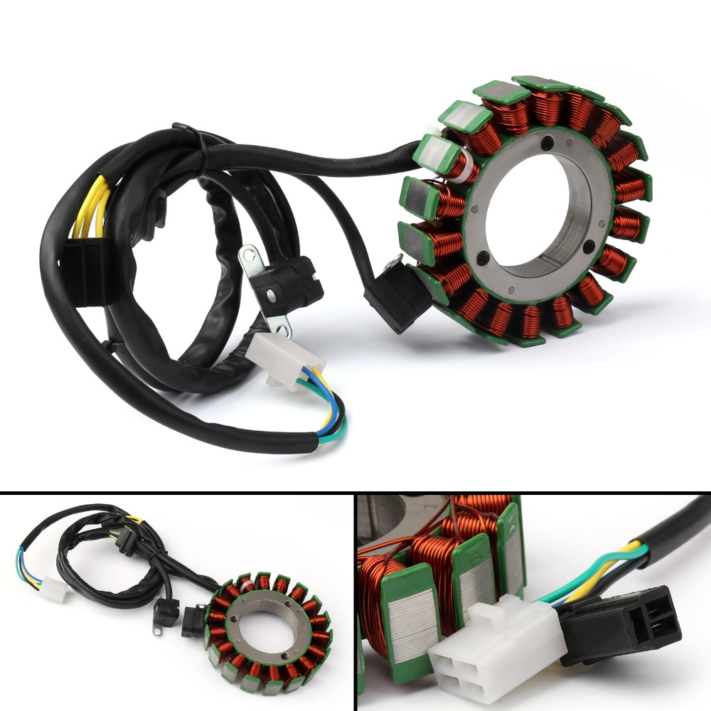 Areyourshop Motorcycle Generator Stator Coil For <font><b>Suzuki</b></font> <font><b>VS1400</b></font> Boulevard S83 Intruder 1400 Motorcycle Covers image