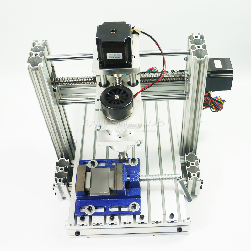 No Shipping! Best DIY 2520 3axis CNC Engraving Machine With 300W DC Spindle Mini Lathe