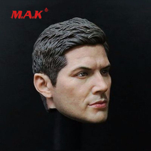 New 1:6 Scale Supernatural Dean Winchester Jensen Ackles Male Head Sculpt fit 12 Action Figure for Collection as Gift 1 6 man head sculpt carving supernatural dean winchester jensen ackles type headsculpt for 12 male action figure body