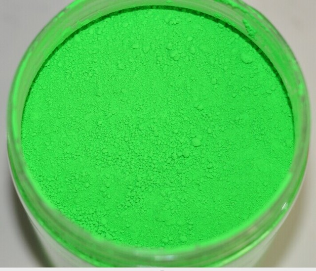 50gram X Neon Green Color Fluorescent Phosphor Pigment Powder For Nail Polish Painting Printing