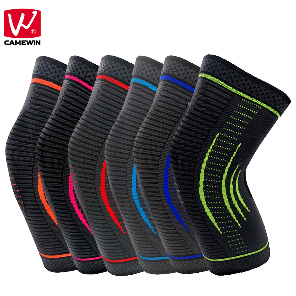 CAMEWIN 1 Piece Knee Pads for Joint Pain and Arthritis Relief-Effective Support for Running ,Jogging,Workout,Walking,Hiking