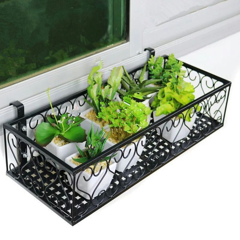 metal European style balcony garden living room plants outdoor shelves green flower shelf decoration flowerpot rack european standard 25ft home garden flexible natural latex water pipe green