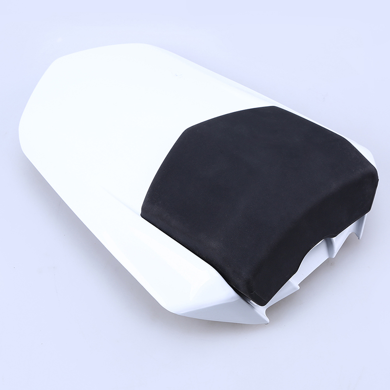 White Motorcycle Rear Seat Cowl Cover Rear Cafe Racer Seat Cover Motocross Fairing Tail Section For Yamaha YZF R1 2004 2005 2006