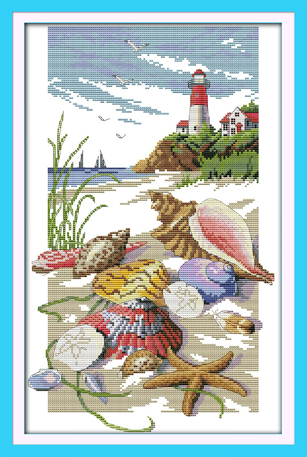 Sailing Design Cross Stitch kit