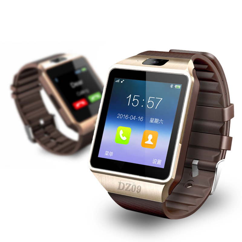 New Smart Watch dz09 With Camera Bluetooth WristWatch Support SIM Card Smartwatch For Android Phones Multi
