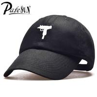 PATESUN Top Selling Uzi Gun Baseball Cap US Fashion 2016 Snapback Hip Hop Cap HEYBIG Curve