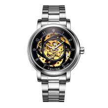 TEVISE Brand Authentic Men s Skeleton Automatic Mechanical Waterproof Male Wrist font b Watch b font