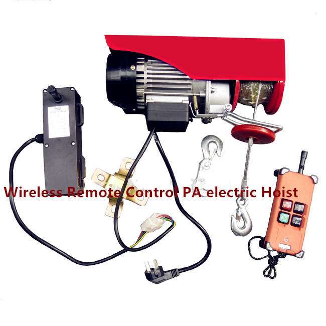 150KG/300KG Wireless remote control electric winch with 20M
