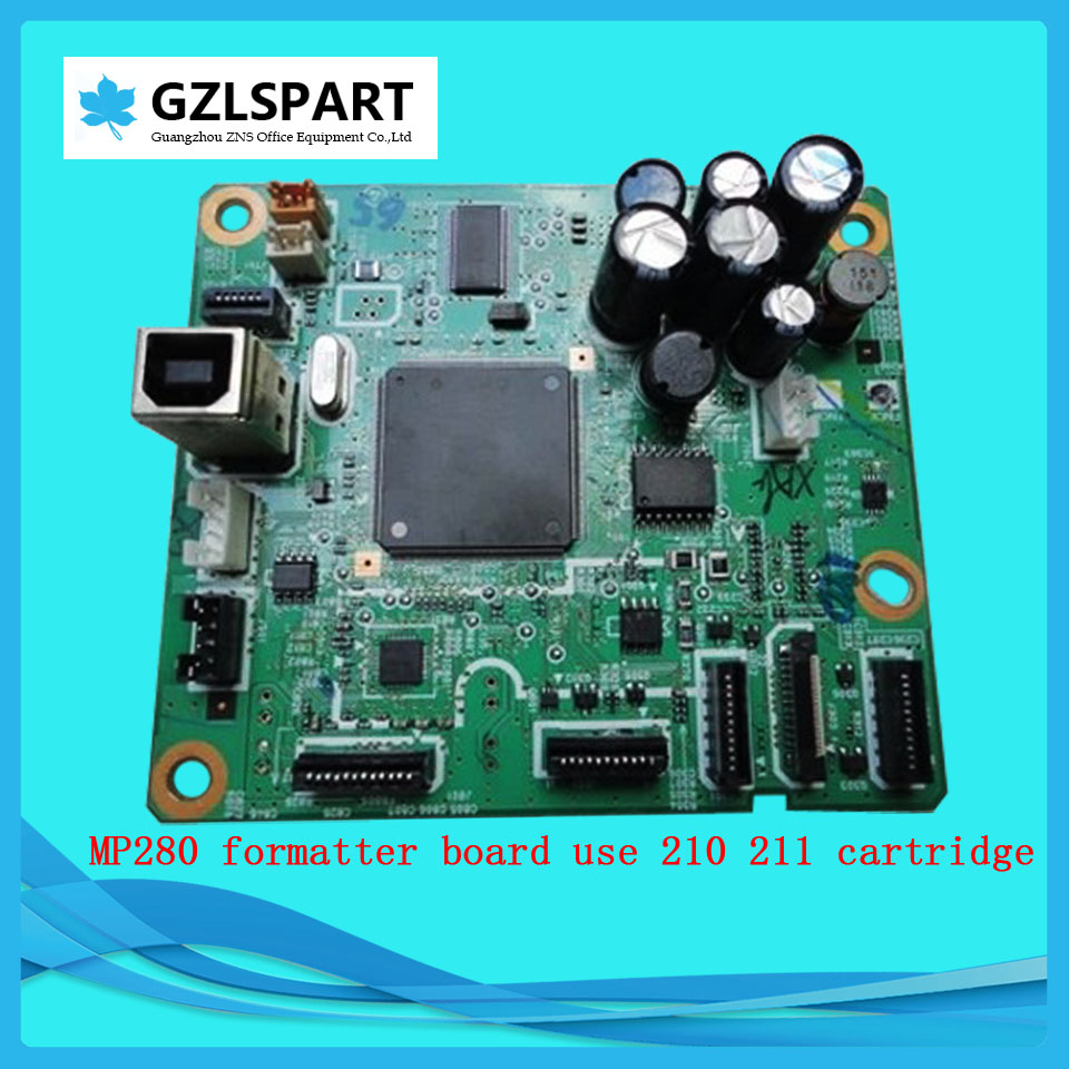 FORMATTER PCA ASSY Formatter Board logic Main Board MainBoard mother board for Canon MP280 MP-280 MP 280