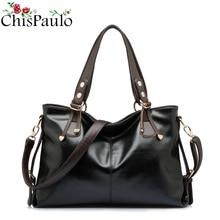 CHISPAULO Famous Brands Designer Fashion Women's Genuine Leather Handbags Vintage Women Messenger Shoulder Crossbody Bags X12