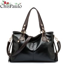 CHISPAULO Famous Brands Designer Fashion Women's Genuine Leather Handbags Vintage Women Messenger Shoulder Crossbody Bags X12(China)