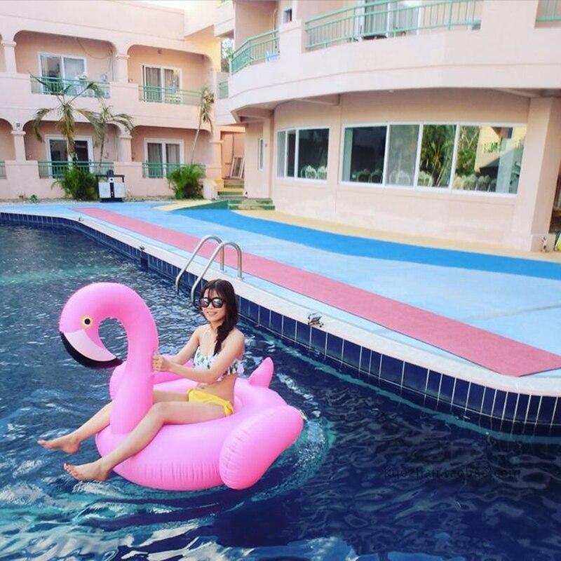 Flamingo swimming ring (5)