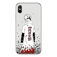 Relief Anime Naruto Case For iPhone8 8 Plus Cover Soft TPU Silicone Cartoon Phone Case For iPhone 6S 6SPlus 7 7Plus X Coque