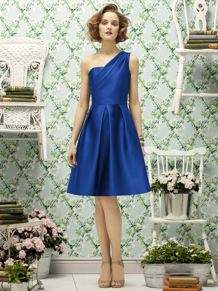 Popular Dark Royal Blue Bridesmaid Dresses-Buy Cheap Dark Royal ...
