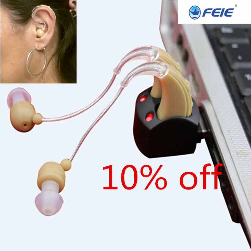 cheap price aide auditive rechargeable feie chargeable hearing aid listen device S-109S free shipping feie hearing aid s 10b affordable cheap mini aparelho auditivo digital for mild to moderate hearing loss free shipping