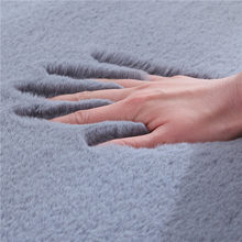 Faux Hair Fur Rug Soft Carpets For Living Room Home Shaggy Carpet Bedroom Coffee Table Fluffy Kids Floor Mat