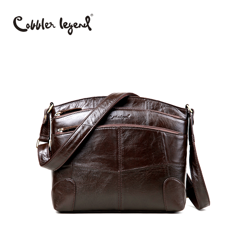Cobbler Legend Brand Designer Women's Crossbody Bag Genuine Leather Shoulder Bag
