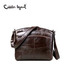 Cobbler legend marke designer frauen crossbody tasche aus echtem leder schultertasche für frau umhängetasche damen handtasche 0910006-1