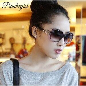 DANKEYISI Hot Fashion Polarized Sunglasses Women Brand Designer Vintage Polaroid Sunglasses Female Luxury Sunglasses Eyewear(China)