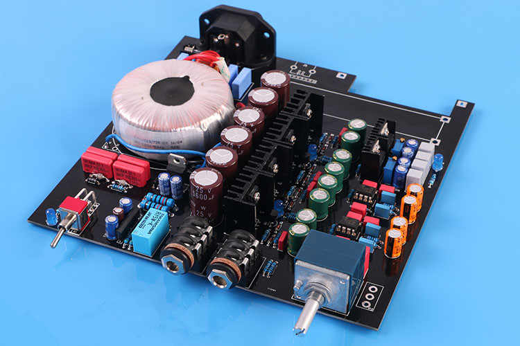 New HIFI A2 Headphone Amplifier DIY Kit Dual 15-18V Reference Beyerdynamic A2