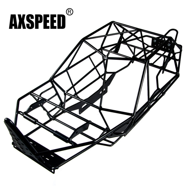 1pc 110 Scale Rc Axial Wraith Truck Full Metal Roll Cage Frame Body