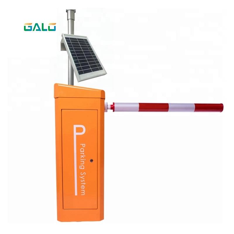 Dc 24v Servo Motor Toll Gate Barrier Automatic Barrier Gate Support Solar System