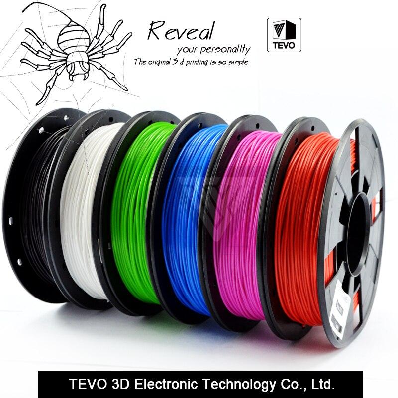 3D filament PLA filament 1 75 Multi colors 1KG plastic spools filament 1 75mm 3D printer
