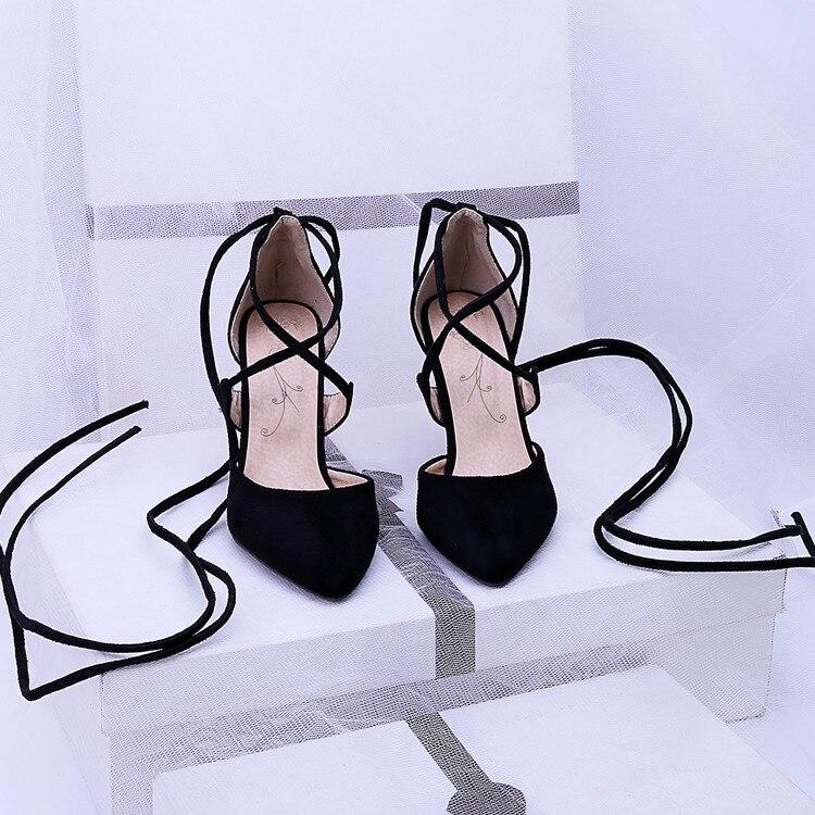 Fashion Sale Sandalias Mujer Plus Size Shoes Women Sandals 2017 High Heels Sapato Feminino Summer Style R Chaussure Femme 1-19