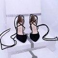 Venda de moda Sandalias Mujer Plus Size Sapatos Femininos Sandálias 2016 de Salto Alto Sapato Feminino Verão Estilo R Chaussure Femme 1-19