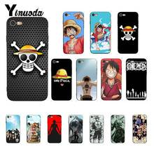 Yinuoda Japanese anime collage one piece luffy  Phone Case for iPhone X XS MAX 6 6s 7 7plus 8 8Plus 5 5S SE XR 11 pro max