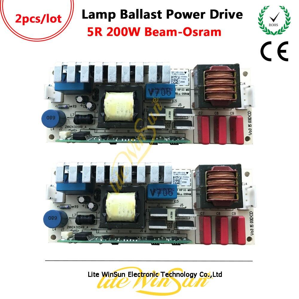 Litewinsune Generic UHP 5R 190W160W Lamp Power Board Ballast Sharpy Beam Lamp MSD Platinum Replace Power Drive недорго, оригинальная цена