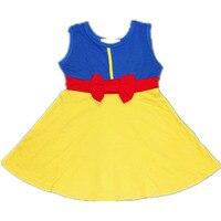 Kids Princess Cosplay Girls Dress FROZE Elsa Anna Dress Children Mermaid Moana Girls Christmas Halloween Costumes