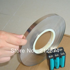 Image 2 - Free Shipping 18650 battery nickel tape 0.15*7mm pure nickel strip 0.15mm thickness 7mm width nickel belt