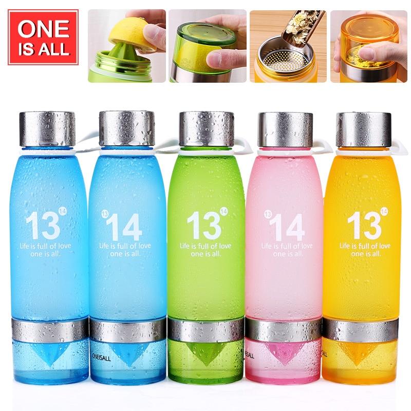 Health My Lemon Bottle Juice Plastic <font><b>Cup</b></font> <font><b>Fruit</b></font> Bottle for water tea Infuser drinking bottles Sport Bike Portable water Tumbler