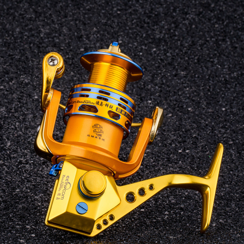 Tokushima FV series all-metal parallel winding fishing reel spinning reel bait casting reel 17 bearings стоимость