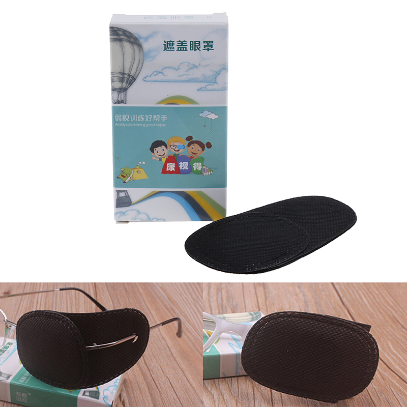 6Pcs Child Occlusion Medical Lazy Eye Patch Eyeshade for Kids Children Boy girl 2 Size Health and Beauty Wholesale