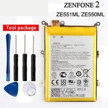 Orginal C11P1424 Battery For Asus ZenFone 2 Z008D ZE551ML ZE550ML Z00AD ZenFone2 5.5inch 3000mAh стоимость