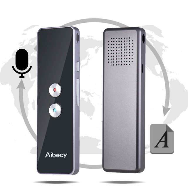 Smart Two-Way Real Time Multi-Language Voice Translator Portable Pocket Transaltor for Learning Travel Meeting Instant Traductor