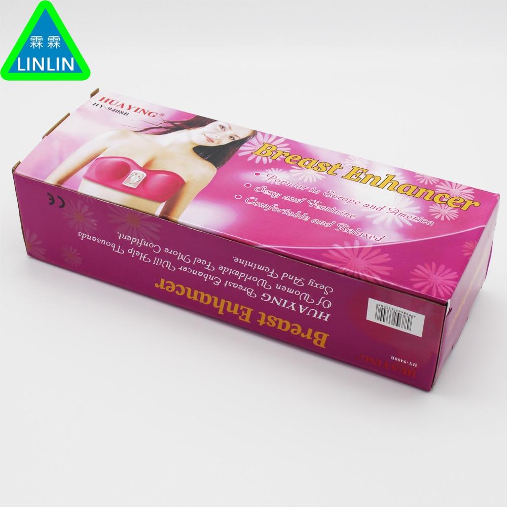 Breast enlargement Health care beauty enhancer Grow Bigger Magic Vibrating massage bra & breast head massager vibrators device