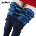 2017 New Winter Women Leggings Fashion Brand Plus Casual Warm Faux High Elastic Thick Slim Leggings Female calca leggin NBZ0027