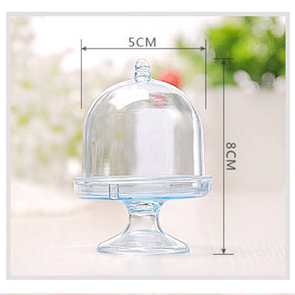 5 colors 12pcs/lot Transparent Plastic Candy Boxes Wedding Favor ...